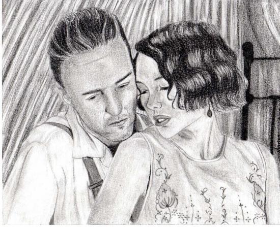 Naomi Watts, Edward Norton por drawingmydream